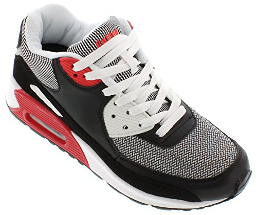Black Uomo And Basso Collo Red FD016 5 White 39 EU Calden A qfxFw6an