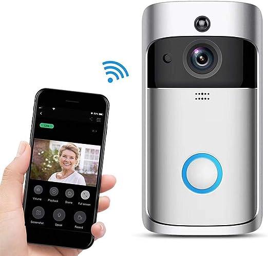 LanLan videoportero Inalámbrico WiFi Mando a Distancia Electrónico ...