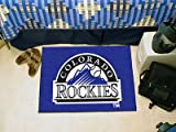 Fanmats MLB Colorado Rockies 20 x 30 in. Starter Mat