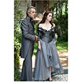 Beautiful Creatures Jeremy Irons as Macon Ravenwood with Alice Englert as Lena outside of estate 8 x 10 Inch Photo