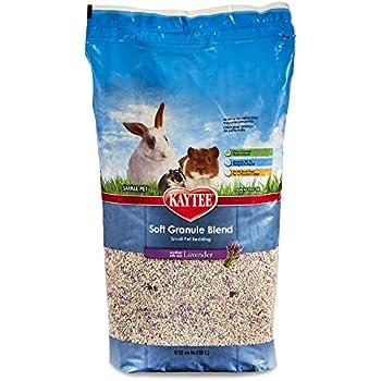 Kaytee Soft Granule Blend Lavender Bedding for Pet Cages, 10 Liter