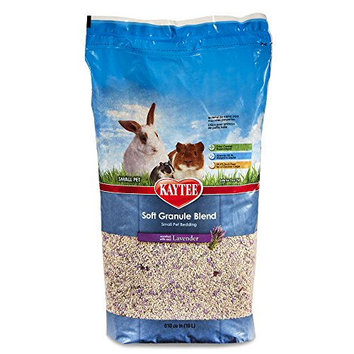 Kaytee Soft Granule Blend Lavender Bedding for Pet Cages, 10 Liter 10 Liter Small Animal Bedding