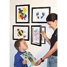 Li'l Davinci® Art Gallery - Set of 4 Black Frames for 8.5x11 artwork
