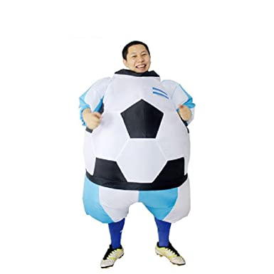 Soccer Inflatable Fat Suit Football Soccer Mascot Costume Party Fancy Blow Up Dress Carnival Inflatable Ball  sc 1 st  Amazon.com & Amazon.com: Soccer Inflatable Fat Suit Football Soccer Mascot ...