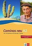 Caminos A2 Neue Ausgabe: Spanisch als 3. Fremdsprache. Lehr- und Arbeitsbuch + 3 Audio-CDs