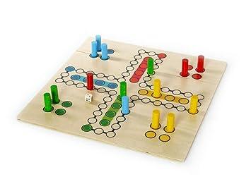 Juego de mesa de madera hacia fuera uno del juego del juego de ...