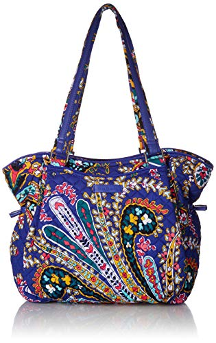 Vera Bradley Iconic Glenna Satchel, Signature Cotton, romantic paisley