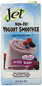 Jet Mixed Berry Non-fat Yogurt Smoothie,64oz.