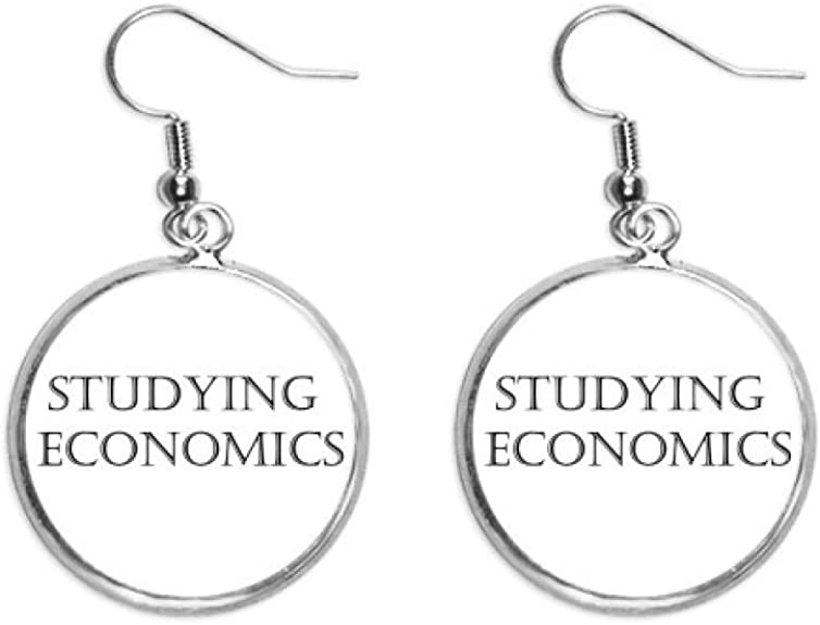 Earrings with phrase