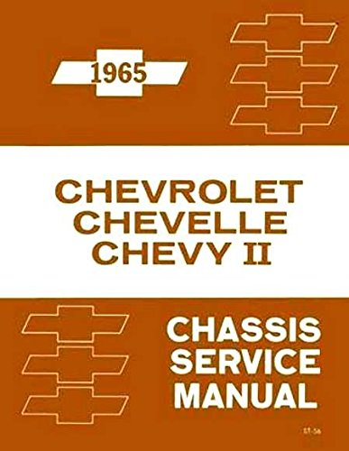 A MUST FOR OWNERS, MECHANICS & RESTORERS 1965 CHEVROLET FACTORY REPAIR SHOP & SERVICE MANUAL - INCLUDES: Biscayne, Bel Air, Impala, full-size Station Wagons, Chevelle, El Camino, Malibu, SS, Chevy II, & Nova. 65 CHEVY - Bel Air Owners Manual
