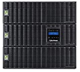 CyberPower OL8000RT3UTF Smart App Online UPS System, 8000VA/7200W, 19 Outlets, 9U Rack/Tower with Step-Down Transformer