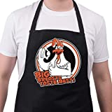 BBQ Apron Funny Aprons For I Love Big Breasts Barbecue Grill Kitchen Gift