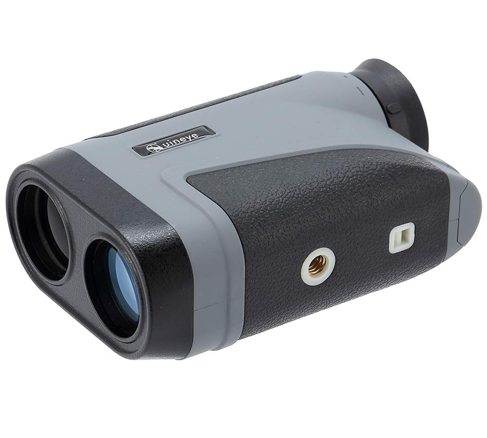Uineye Golf Rangefinder - Range : 5-1950 Yards, 0.33 Yard Accuracy, Laser Rangefinder with Height, Angle, Horizontal Distance Measurement Perfect for Hunting, Golf, Engineering Survey (Grey) by Uineye (Image #3)