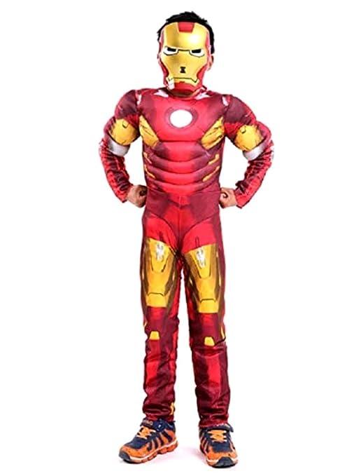 Disfraz de Iron Man - Busto musculoso - Superhéroe y máscara ...