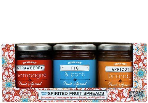 Trader Joe's Spirited Fruit Spreads 3 jars variety