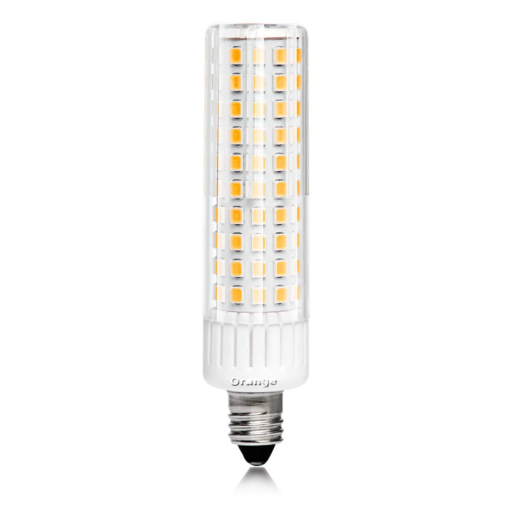 e11 LED電球8.5 W 85 – 265 V、1105 LM、100 W相当、not-dimmable、Mini燭台ベース、天井のファン、屋内照明、暖かいホワイト3000 K B07D5ZPZK6