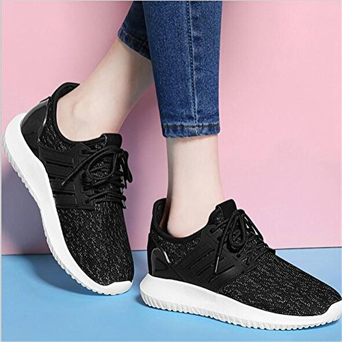 Lace Women's B Heel Casual Weave Jiang Shoes Tulle Breathable Wedge Shoes up Sneakers Fall Comfort Spring Sneakers Shoes Flat zUpq8Ufd