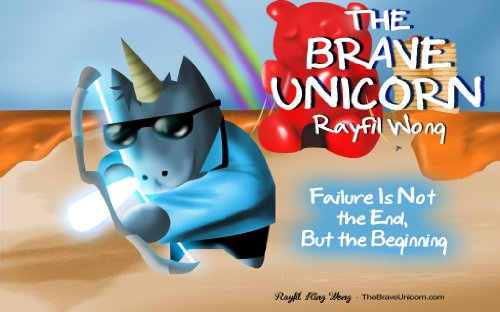 Toddler Costumes Fail - The Brave Unicorn: Grit book for kids with 3D