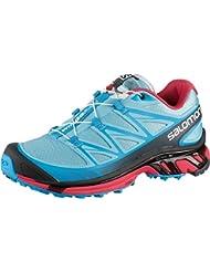 Salomon Womens Wings Pro All Terrain Trail-Running Shoe