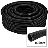 "First4Spares 5 Metre 1.25"" (32mm) Premium Quality Flexible Hose Fish Pond Pump Flexi Pipe"