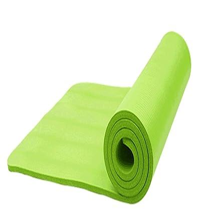 Amazon.com : LXFei Yoga Mat Thick Yoga Mat Beginner Seam ...