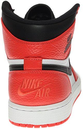 Jordan Nike Men's Air 1 Retro High Max Orange/Black Basketball Shoe 8.5 Men US pay with visa sale online VQT5RkrQI
