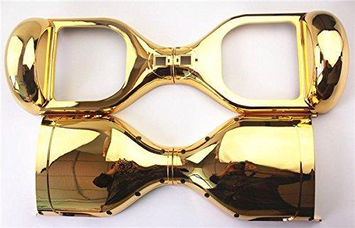 Gold Chrom Ersatz äußere Shell für 16, 5 cm Smart selbst Balance Rad Balancing Elektro Scooter Hoverboard Ersatzteile dragonfive