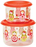 Sugarbooger Good Lunch Small Snack Container, Matryoshka Doll, 2 Count