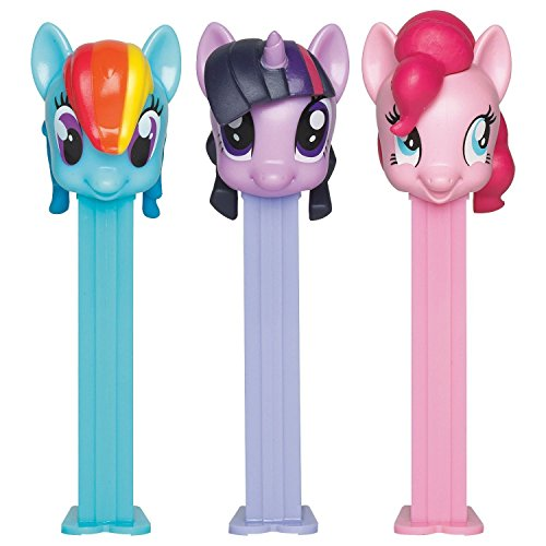 Pez BB79365 My Little Pony Pez Dispenser and Candy Set (1 Dispenser) -