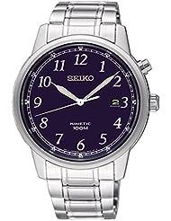 Seiko Mens Kinetic Watch, Blue Dial - SKA777P1