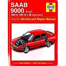 Saab 9000 (4-Cyl) Service and Repair Manual