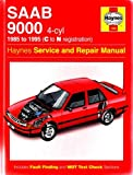 img - for Saab 9000 (4-cyl) (1985 to 1995 C to N registration) (Haynes Service and Repair Manual) book / textbook / text book