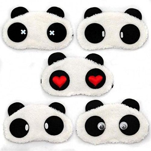BaoST 3D Cartoon Eye Sleep Mask Padded Shade Cover Rest Relax Sleeping Blindfold Cover for Home and Travel (#6) by BaoST (Image #3)