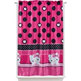 "Sanrio Hello Kitty ""Seeing Dots"" Room Darkening Curtain Panel Review"