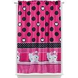 "Cheap Sanrio Hello Kitty ""Seeing Dots"" Room Darkening Curtain Panel"