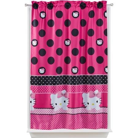 Hello Kitty Room Darkening Curtain