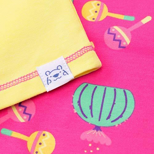 Harry Bear Girls Cactus Short Pyjamas