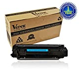V4INK ® 1 Pack New Compatible Replacement for HP CE285A 85A Black Laser Toner Cartridge -2,000 Page Yield for HP Laser Jet P1005 P1006 P1102 P1102W Series Printers