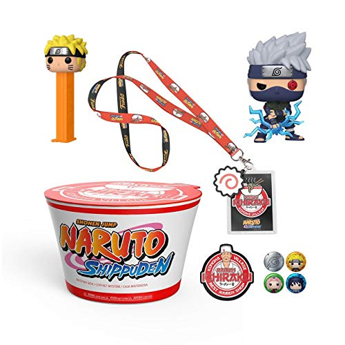 Funko Box Naruto Shippuden Ramen Shop Konoha Village 4 Pcs (no gamest