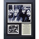 """Legends Never Die""""Pink Floyd"""" Black and White Framed Photo Collage, 11 x 14-Inch"""