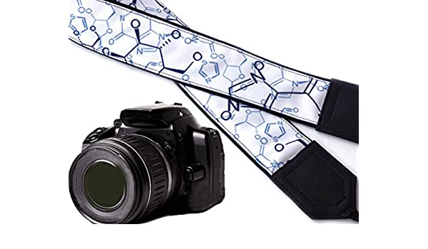 Química cámara Correa. Negro, Azul y Blanco. para Correa de cámara ...
