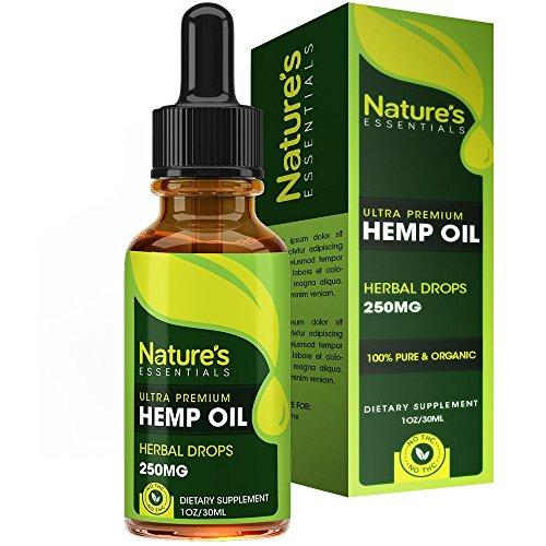 Hemp Oil Drops :: 100% Pure Hemp Seed Extract :: All