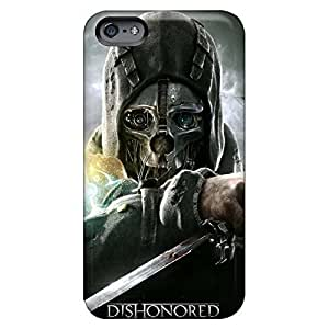Customized phone case cover Iphone Hard Cases With Fashion Design Nice iPhone 5 5s - dishonored 2012 game