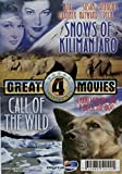Great 4 Movies: The Last Time I Saw Paris / Charade / Snows of Kilimanjaro / Call of the Wild