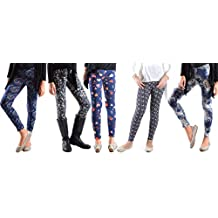 Dinamit Jeans 5 Pack Deal On These Great Girls Fun Printed Leggings