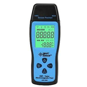 EMF Meter Electromagnetic Field Radiation Detector Handheld Mini Digital LCD EMF Detector Dosimeter Tester Counter