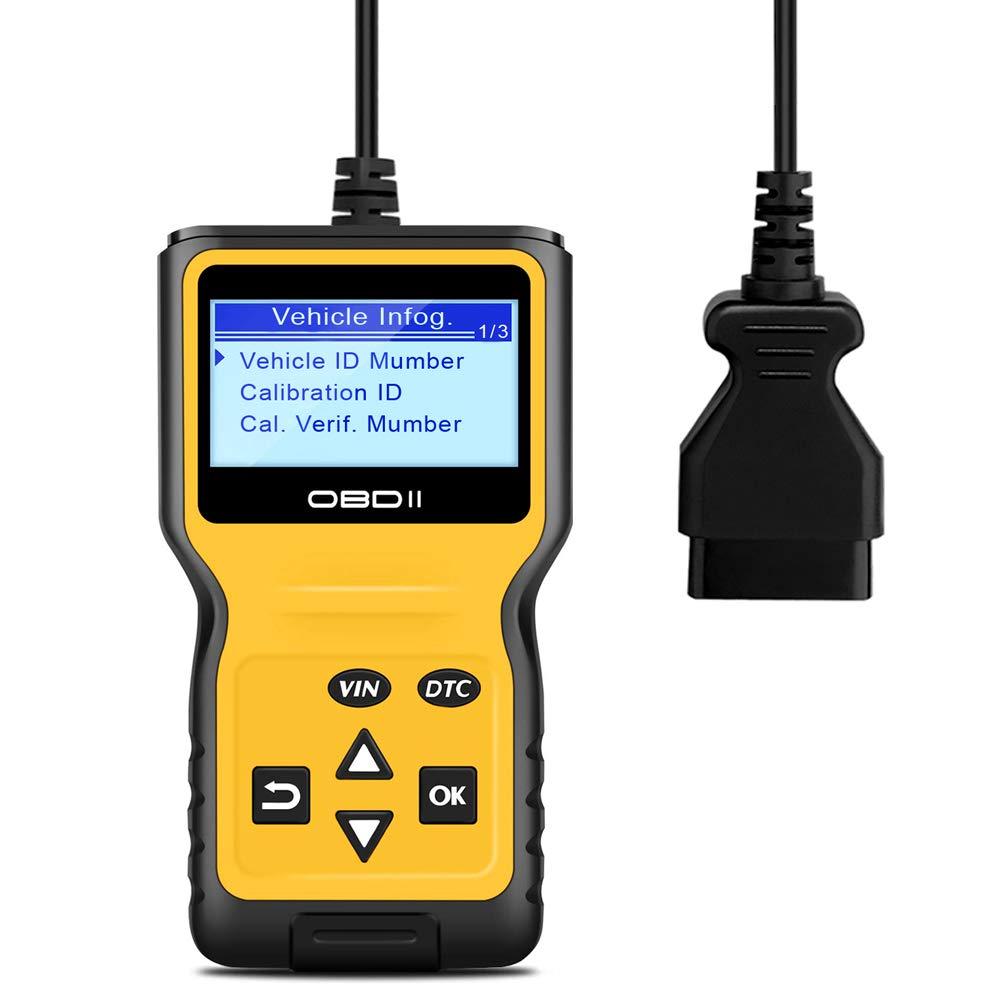 Panlong OBDII OBD2 Scanner Check Engine Light (MIL) Car Diagnostic Code Reader Scan Tool