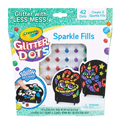 Glitter Dots Mosaics is a cool toy for girls