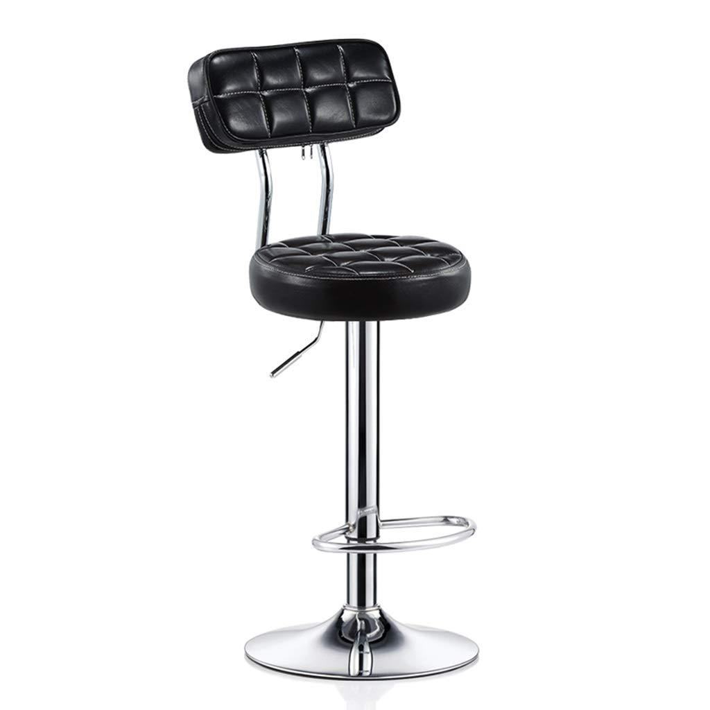 color 1 redating Bar Stool, Adjustable Lifting Beauty Chair Decor Front Desk Cash Register High Stool (color   color 3)