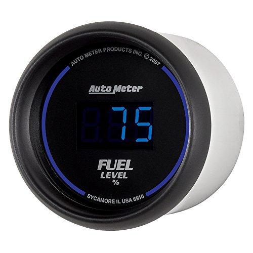 Auto Meter 6910 Cobalt Digital 2-1/16'' 0-280 ohm Digital Fuel Level Programmable Empty - Full Range with Preset by Auto Meter (Image #3)